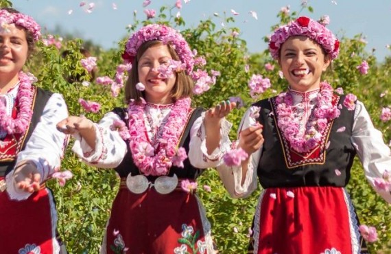 Празник на розата в Казанлъшката долина