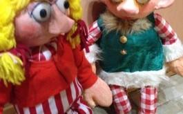 Куклен театър за деца на Коледа